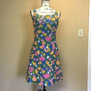 Bobbie Brooks 70's vintage look floral dress
